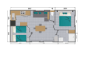 LOUISIANE SAVANAH 2 chambre - 1